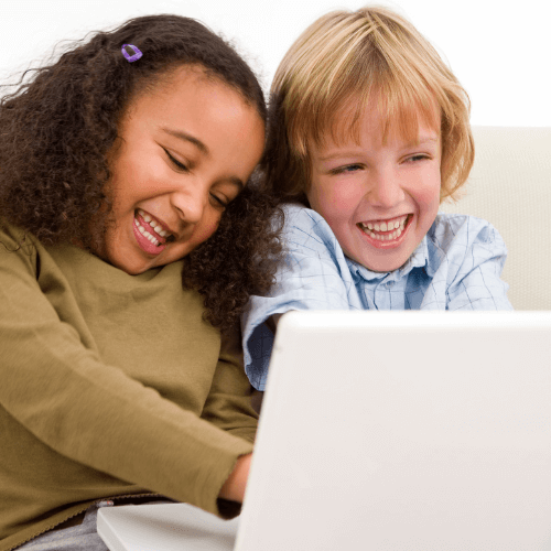 Kids on the computer